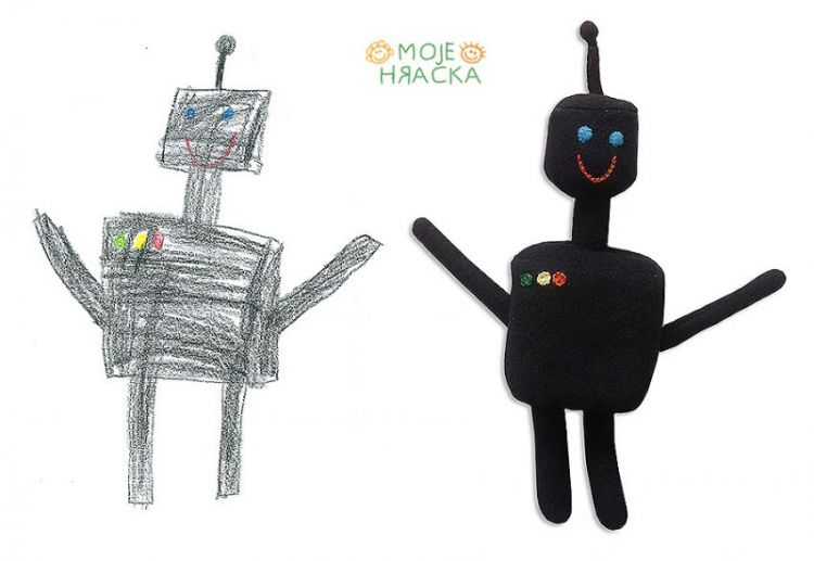 Míša, 7 years, The Robot
