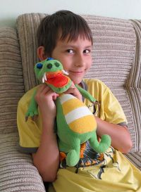 Matej, 9 years, the dragon