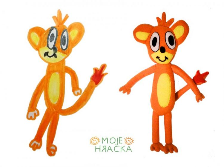 Magdalenka, 7 years, Monkey´s Pokemon
